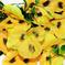 искусственные цветы анютины глазки цвета желтый 1