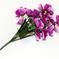 искусственные цветы анютины глазки цвета фиолетовый 7