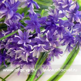 букет из луговых цветов цвета синий 12