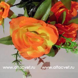 букет роз цвета оранжевый 2