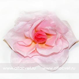 головка роз диаметр 10 цвета розовый 5