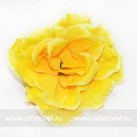 головка роз диаметр 13 цвета желтый 1