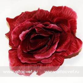 головка роз диаметр 13 цвета бордовый 61