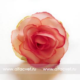 головка роз диаметр 4 цвета светло-розовый 9