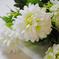 искусственные цветы хризантемы цвета белый 6
