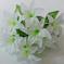 искусственные цветы лилии цвета белый 6