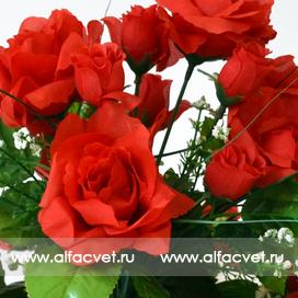 подставка роз цвета красный 4