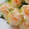 искусственные цветы розы цвета кремовый 24