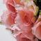 искусственные цветы розы цвета светло-розовый 9