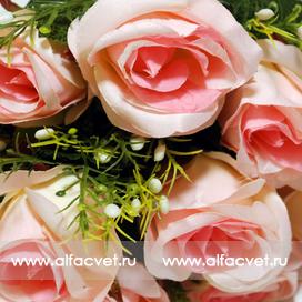 букет роз цвета розовый 5
