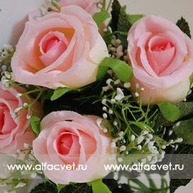 роза цвета розовый 5