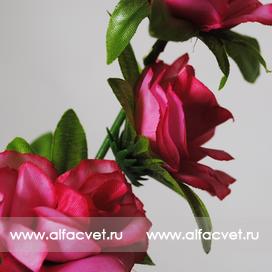 ветки роз цвета малиновый 11