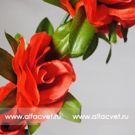 ветки роз цвета оранжевый 2