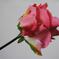 искусственные цветы роза цвета розовый 5