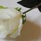 искусственные цветы роза цвета белый 6