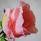 искусственные цветы роза цвета светло-розовый 9