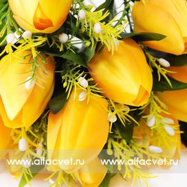 тюльпаны цвета желтый 1