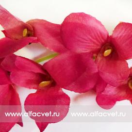ветка орхидей цвета розовый 5